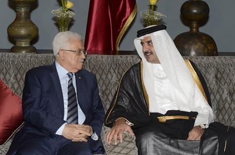 قمة قطرية فلسطينية لبحث أوضاع غزة