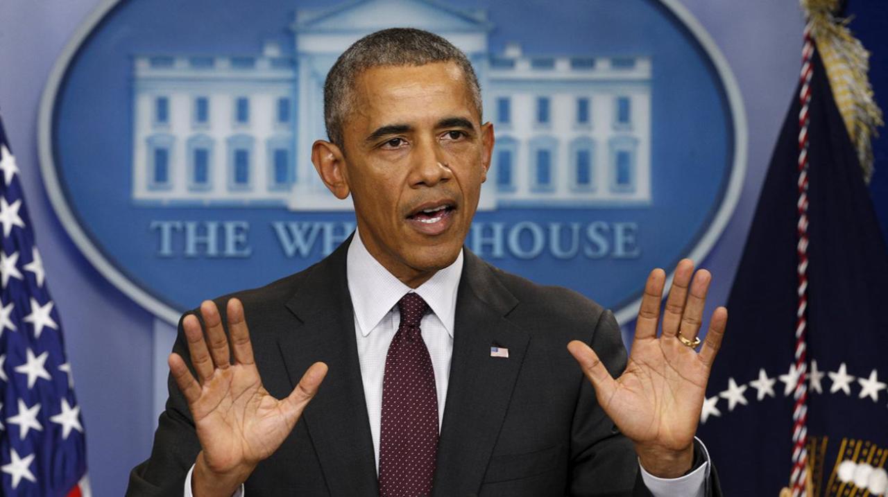 """أوباما: الغارات الروسية بسوريا عززت من قوة """"داعش"""""""