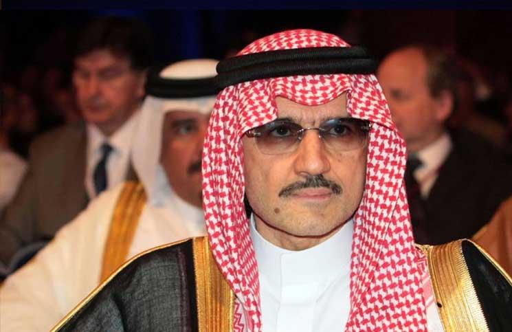 الوليد بن طلال يرفض الاعتراف بالفساد ويعرض التبرع
