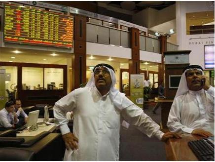 """""""دبي المالي"""" يكتسي بالأحمر متراجعاً 3% ويخسر حواجز مهمة في أسبوع"""