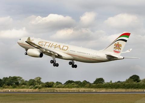 الاتحاد للطيران تطلب السماح باستمرار رحلاتها المشتركة مع إير برلين