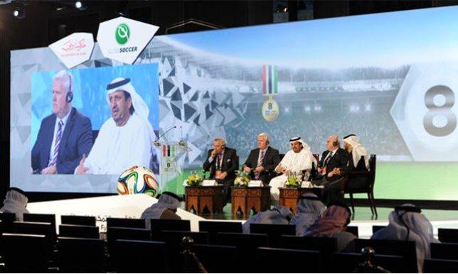 إنطلاق مؤتمر دبي الدولي الرياضي وسط مشاركة فاعلة