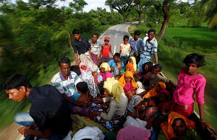 مراسل «بي بي سي» يروي مشاهداته لفظائع رهبان بوذيين بحق مسلمي ميانمار