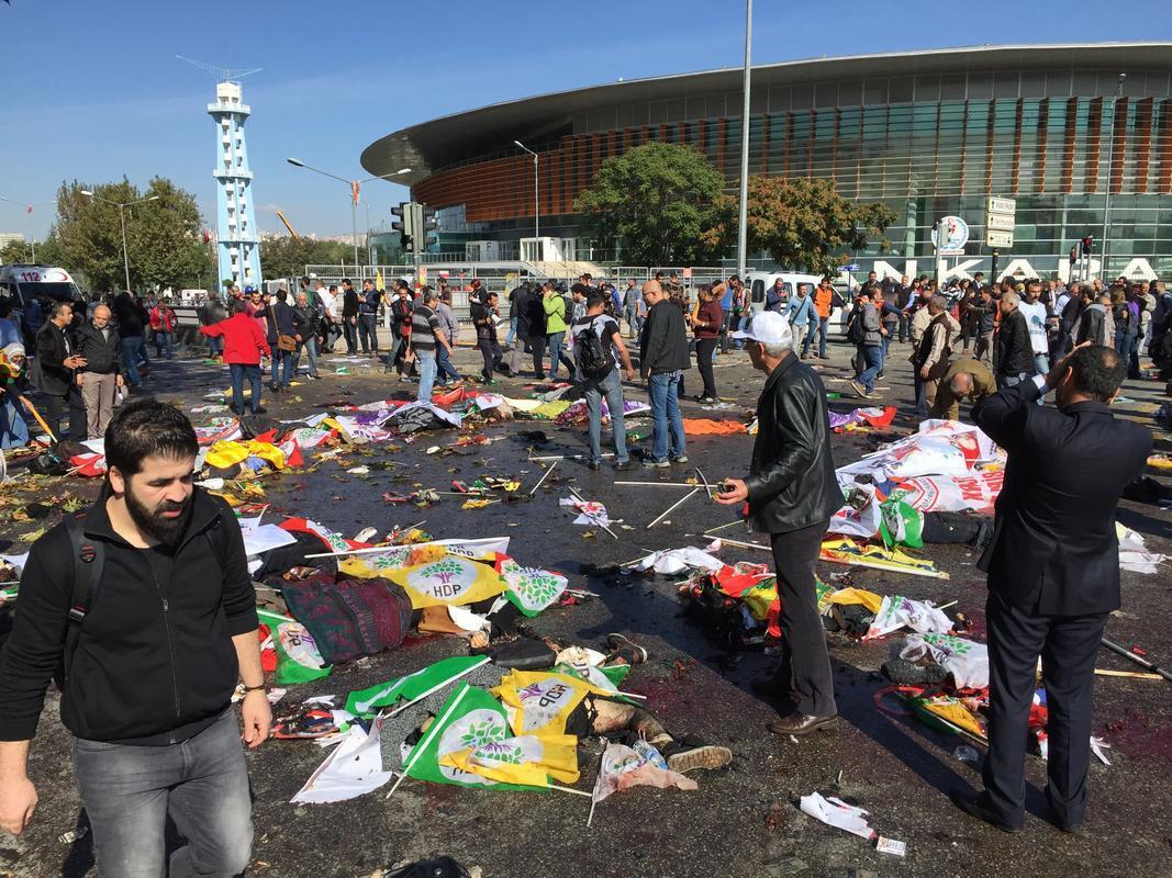 عشرات الضحايا والجرحى بانفجار في العاصمة التركية أنقرة