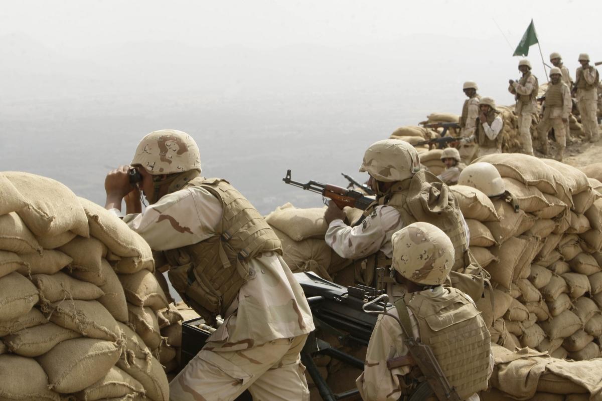 مقتل ستة جنود سعوديين بحدود اليمن