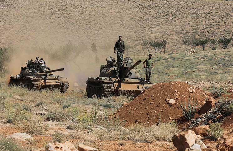قوات أمريكية تسيطر على أكبر حقول الغاز في سوريا