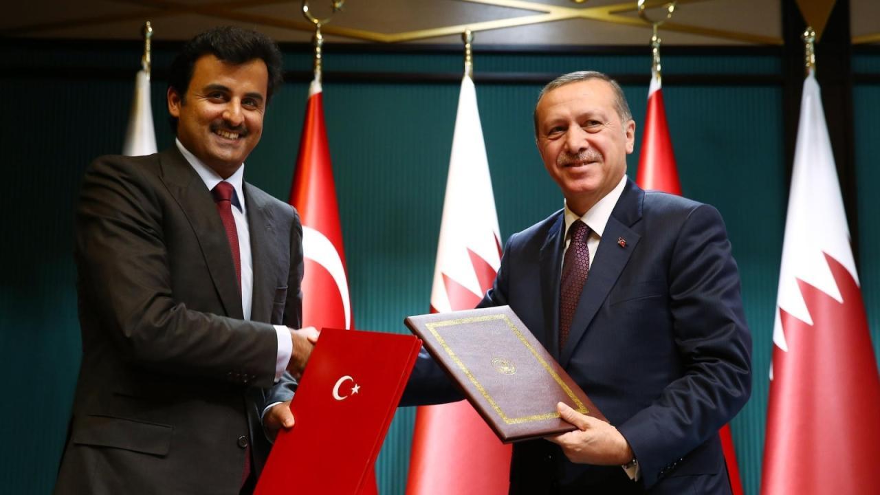 تميم وأردوغان يبحثان الوضع الإقليمي هاتفيا