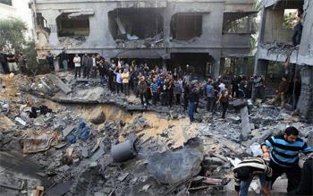 القاهرة تستضيف مؤتمرا لإعادة إعمار غزة حال التوصل إلى اتفاق دائم
