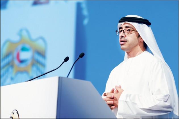عبد الله بن زايد يشارك في فعالية للأمم المتحدة لدعم المرأة