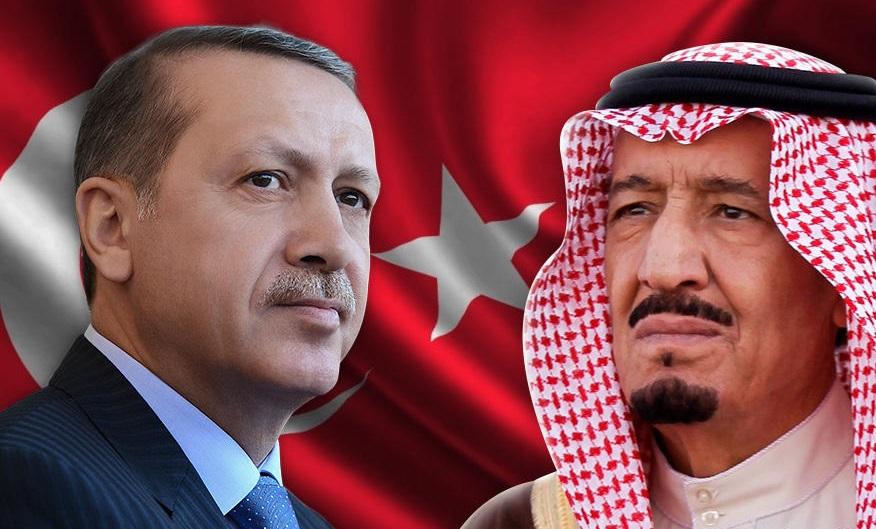 """قمة تجمع الملك سلمان بأردوغان عشية """"قمة العشرين""""  في أنطاليا"""