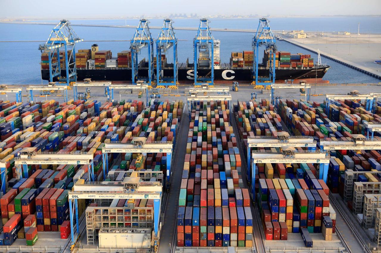 73.4 مليار دولار قيمة تجارة الإمارات غير النفطية