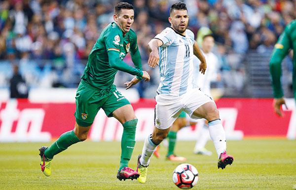الأرجنتين الي ربع نهائي كوبا أميركا بثلاثية في شباك بوليفيا