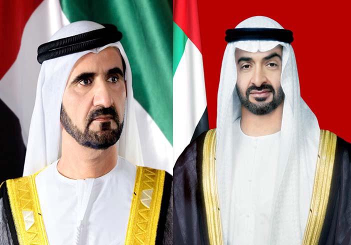 محمد بن راشد ومحمد بن زايد يبحثان قضايا وطنية