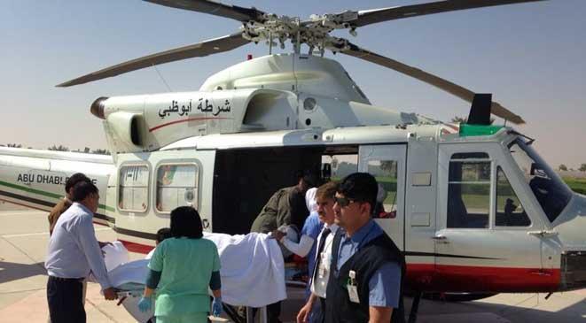 طائرات إماراتية تنقل جرحى الصومال الى الدولة للعلاج