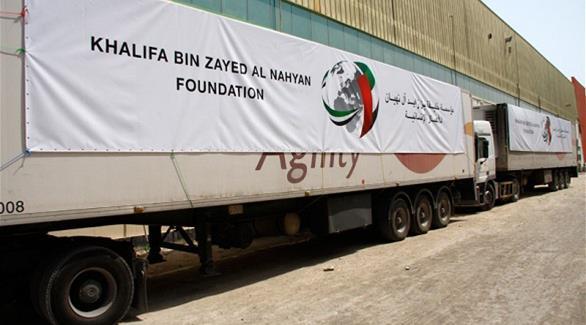 مساعدات إماراتية عاجلة للمحتاجين في أربيل العراق