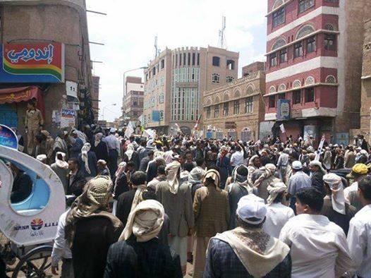 اشتباكات بين الأمن اليمني وحوثيين جوار مجلس الوزراء تخلف قتلى وجرحى