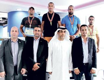 القبيسي بطلاً لمسابقة  الرجل الرياضي