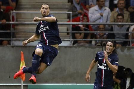 ابراهيموفيتش يقود سان جيرمان للتعادل في الدوري الفرنسي
