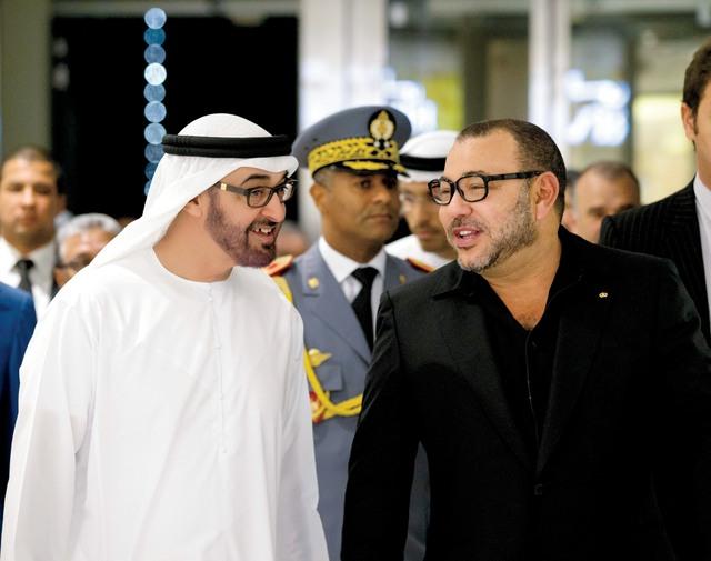 محمد بن زايد يقوم بزيارة رسمية الى المغرب بعد غد الثلاثاء