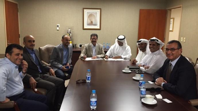 توقيع اتفاقية بين أرامكو وشركة الإنشاءات البترولية الوطنية - أبوظبي
