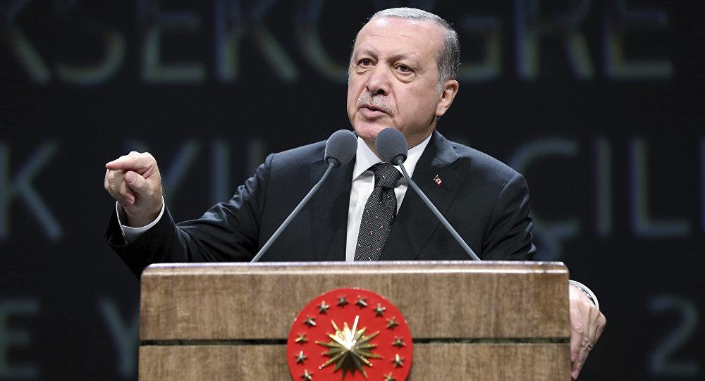 أردوغان: لا يمكن ترك القدس تحت رحمة إسرائيل  التي تمارس  إرهاب الدولة