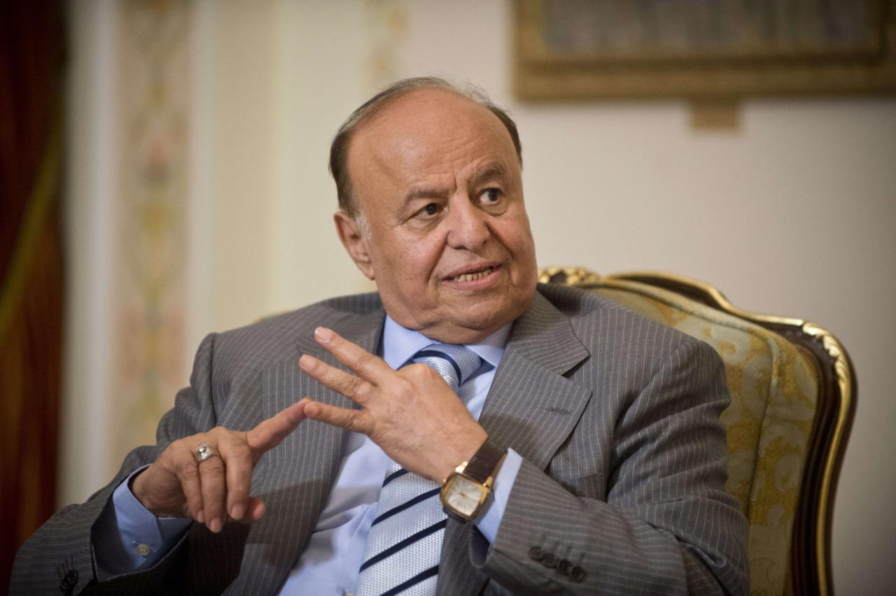 الرئيس هادي يعتذر عن حضور اجتماع جنيف .. والحوثيون يحضرون