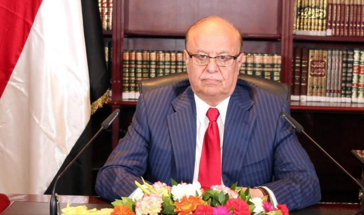 الرئيس اليمني يؤكد تمسكه بالعملية السياسية في البلاد