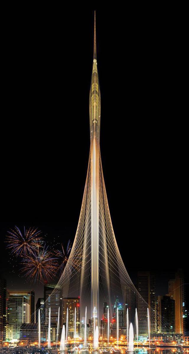 """طوكيو تتحدى دبي بناطحة النجوم العملاقة والأخيرة تعتمد """"التحفة"""""""