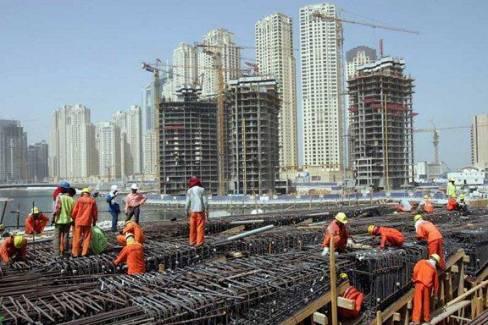 توقعات بنمو قطاع الإنشاءات في الإمارات 9,3 % خلال 5 أعوام