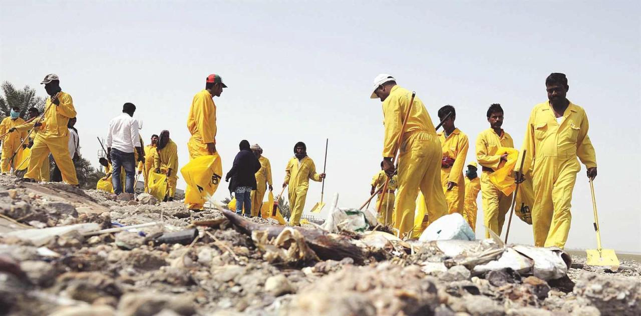 معالجة التلوث تكلف اقتصادات الخليج 10% من ناتجها القومي