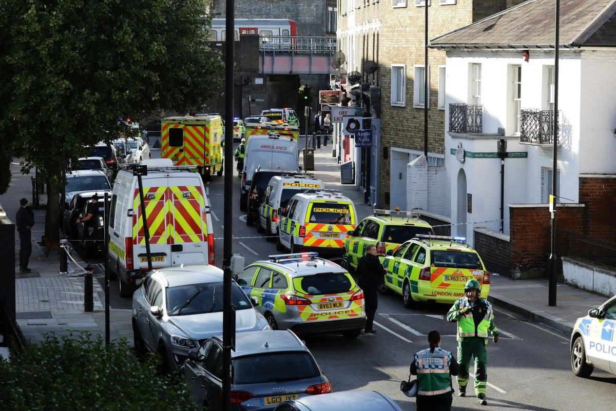 إصابات في انفجار بمترو غرب لندن