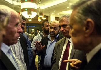 مفاوضات التهدئة في القاهرة تنتهي بالاتفاق على جدول أعمال
