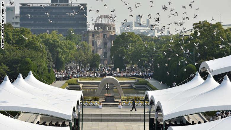 هيروشيما تحيي الذكرى السبعين لاستهدافها بالقنابل النووية اليوم
