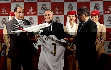 """الاسم الجديد لملعب ريال مدريد """"طيران الإمارات سانتياغو برنابيو"""""""