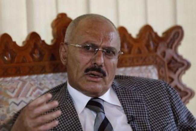 الرئيس اليمني المخلوع يدعو أنصاره للتظاهر ضد عقوبات محتملة