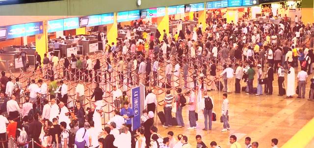 70 مليون مسافر عبر مطار دبي نهاية 2014