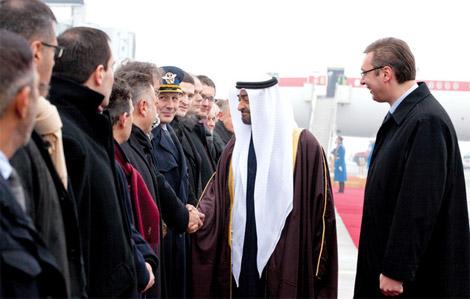 محمد بن زايد يصل صربيا في زيارة رسمية