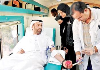 صحة دبي تنظم يوما للتبرع بالدم لصالح مرضى الثلاسيميا