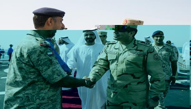 مصر ترسل كتيبتي مشاة ومظلات إلى الإمارات