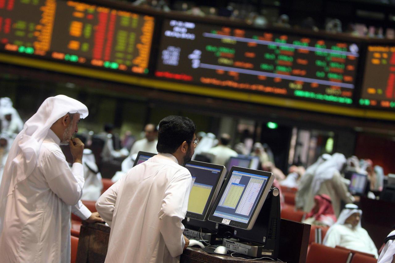 هبوط البورصات العربية الأسبوع الماضي عدا دبي وقطر