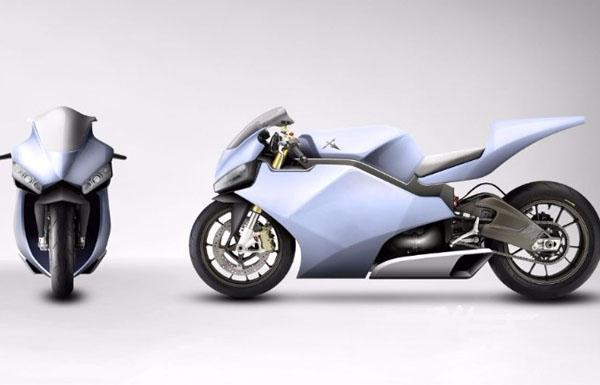 أبوظبي تعرض أول دراجة نارية في العالم تحلّق في الجو