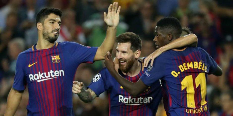 باولينيو ينقذ برشلونة ويقوده للفوز على خيتافي