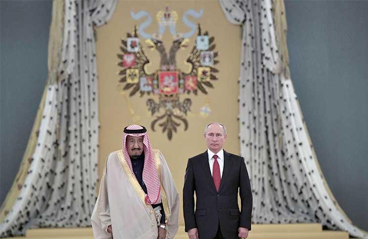 فورين أفيرز:بوتين سعيد بأموال السعودية ولكن إيران