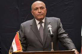 جلسة مباحثات بين وزراء خارجية الإمارات ومصر والبحرين