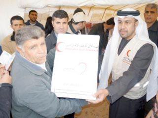 مساعدات إماراتية بقيمة 22 مليون درهم للنازحين في العراق