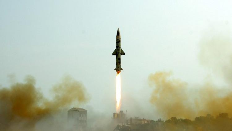 تجربة ناجحة لإطلاق صاروخ هندي إسرائيلي