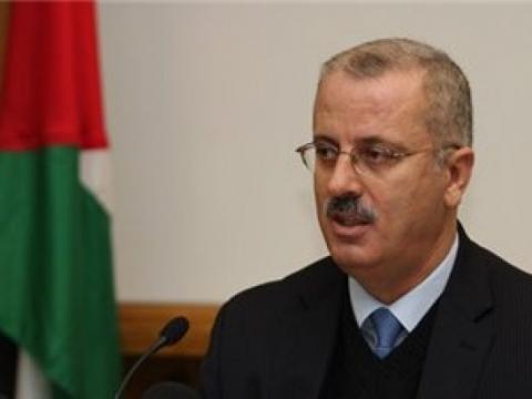 الحمد الله يدعو لإقامة دولة فلسطينية كاملة السيادة على حدود عام 1967