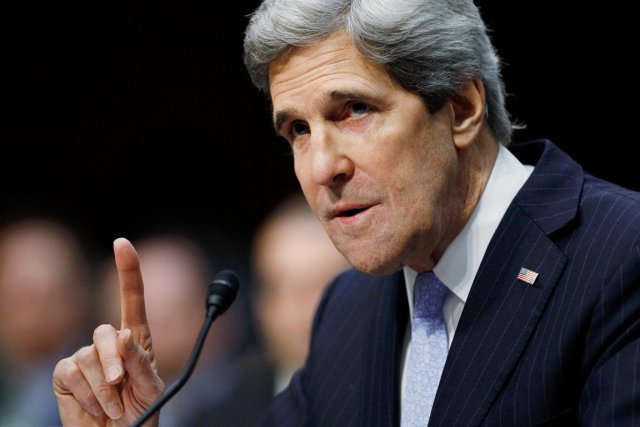 كيري: لن نسمح للدولة الإسلامية بالامتداد إلى دول أخرى
