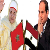 السيسي يدعو العاهل المغربي الى زيارة مصر