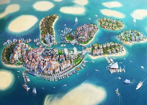 """طائرات مائية تتولى نقل الزوار إلى """"قلب أوروبا"""" في دبي"""